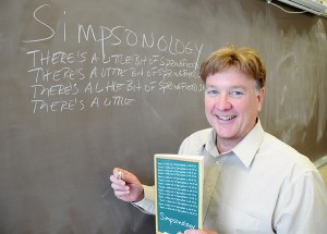Professor's book to draw lessons from 'Simpsons'